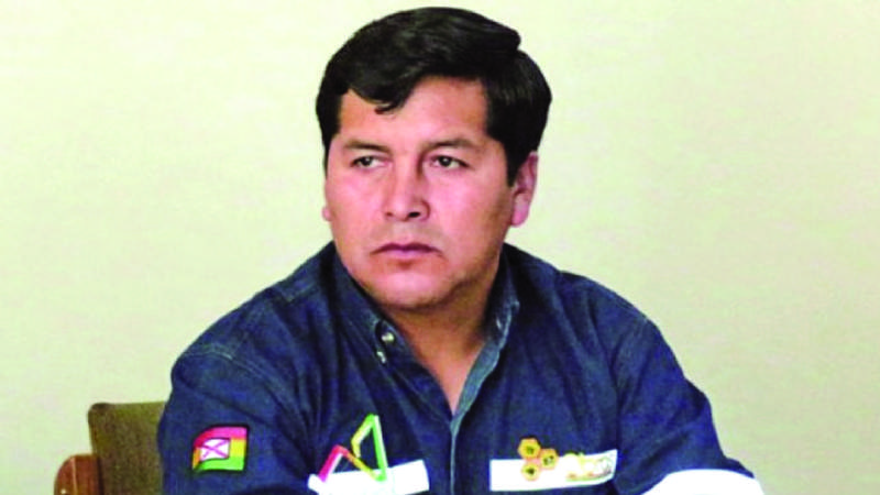 Irineo Condori recaudó hasta 1 millón de bolivianos en coimas