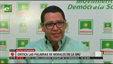 Monasterio critica las palabras de Morales en la ONU