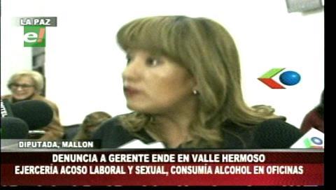 Denuncian un caso de discriminación y extorsión en ENDE de Valle Hermoso