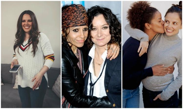 Varias famosas y sus parejas se han convertido en madres (Instagram)