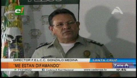 Coronel Medina sobre su vinculación con narcotráfico: «Me están difamando»