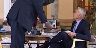 TENSIÓN la foto Univisión publicó la foto del ríspido momento en que Maduro se…
