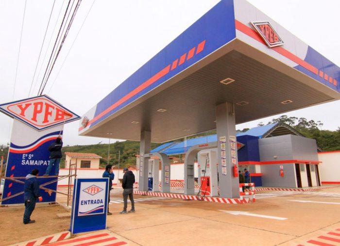 Surtidores de YPFB también se preparan para vender combustible mezclado con etanol.