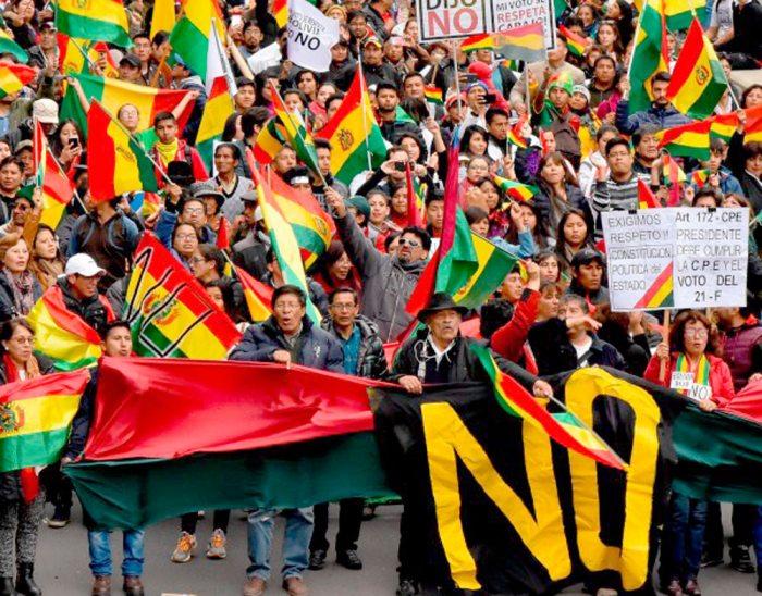 ACTIVISTAS DEL 21F ANUNCIAN PROTESTAS CONTRA LUIS ALMAGRO, EN TANTO, EL MAS LO ESPERA EN EL CHAPARE.