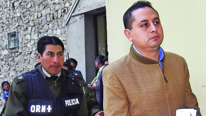 Denuncian que Fiscalía liberó a Guillermo Achá de 4 delitos