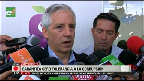Vicepresidente garantiza tolerancia cero al narcotráfico y corrupción
