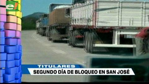 Video titulares de noticias de TV – Bolivia, mediodía del miércoles 15 de mayo de 2019