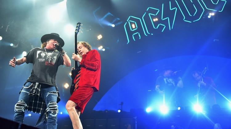 AC/DC, la banda favorita de Pilar Rubio, dará un show en la fiesta (Getty Images)