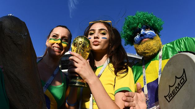 Apenas el 40 por ciento de los brasileros ven a su selección como favorita