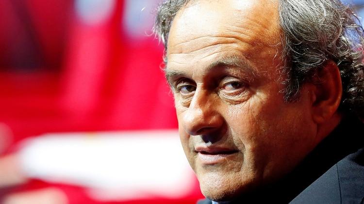 Michel Platini fue detenido dentro de la investigación por corrupción en la concesión del Mundial de fútbol de 2022 aQatar (EFE/ Sebastien Nogier)