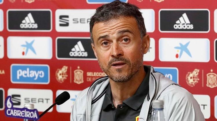 Luis Enrique renunció a la selección de España por problemas personales(@SeFutbol)
