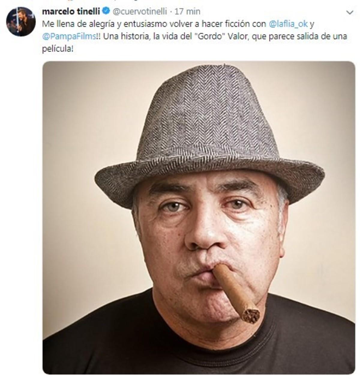 """Marcelo Tinelli habló sobre la serie de """"El Gordo"""" Valor, en la que será productor."""