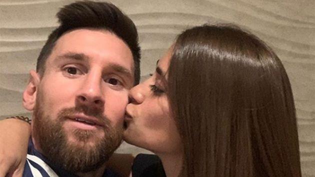 El afectuoso y divertido posteo de Antonela dedicado a Messi