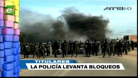 Video titulares de noticias de TV – Bolivia, noche del miércoles 12 de junio de 2019