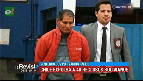 Chile expulsa a más de 40 reclusos bolivianos