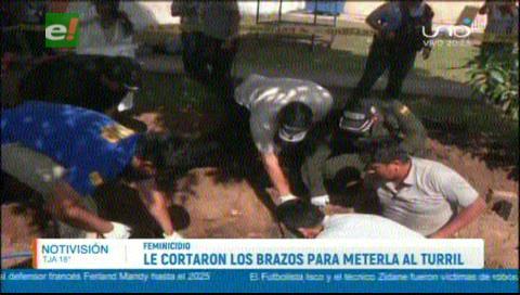 Asesinos le cercenaron los brazos a su víctima para meterla al turril