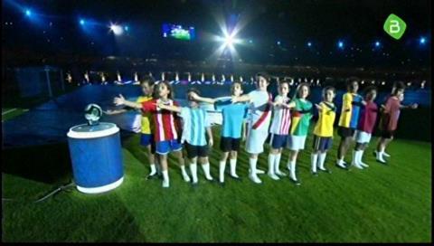 Ceremonia inaugural de la Copa América 2019