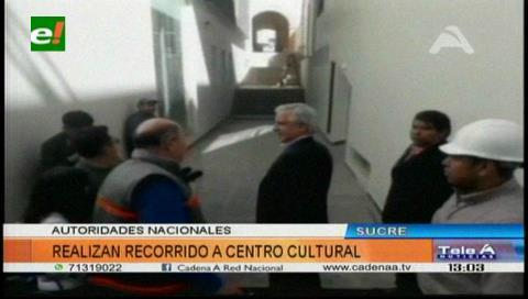 Sucre: Centro Cultural La Sombrerería alcanza un 95% de ejecución