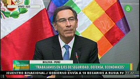 Vizcarra: V Gabinete sellará acuerdos en beneficio de las poblaciones de Bolivia y Perú