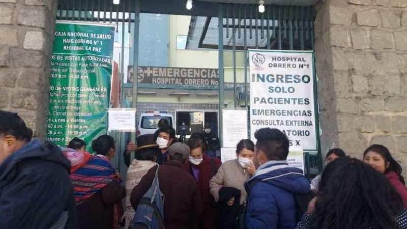 Restringen ingreso a hospitales y refuerzan control en Caranavi