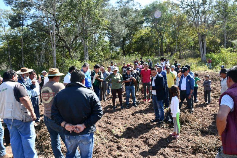 INRA se reúne en Caraparí, Yacuiba y Villa Montes para atender demandas en propiedad de tierras