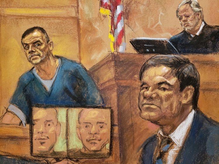 """""""El Rey"""" Zambada fue uno de los testigos de la Fiscalía ( REUTERS/Jane Rosenberg)"""