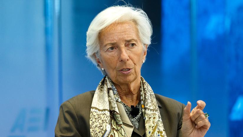 Christine Lagarde renuncia