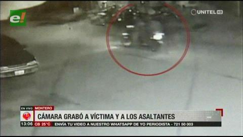 Asaltante a bordo de motocicleta, detenido en Montero, es ex recluso