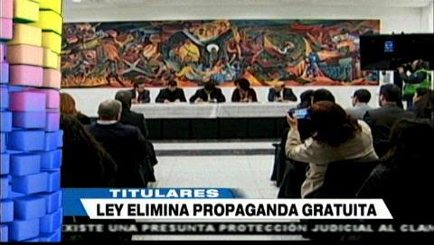 Video titulares de noticias de TV – Bolivia, mediodía del lunes 8 de julio de 2019