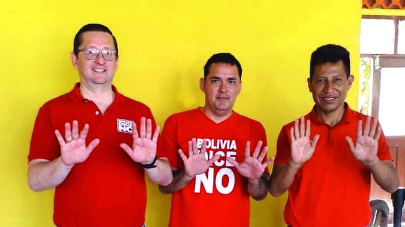 Bolivia Dice No y el MAS revelan sus primeras fichas a Diputados