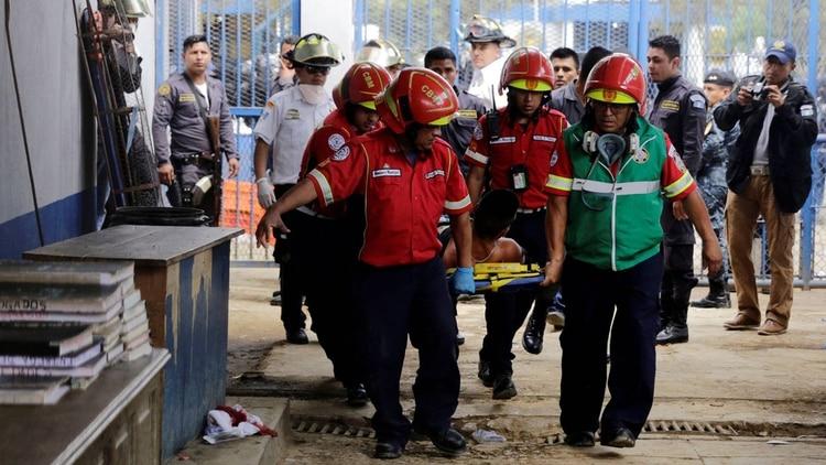 Incidentes en la cárcel Pavón de Guatemala (Reuters)