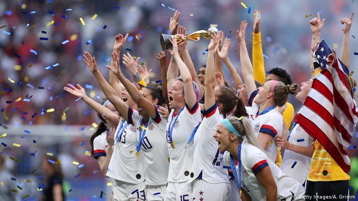 FIFA Frauen-WM 2019 Finale | USA vs. Niederlande | Weltmeister USA (Getty Images/A. Grimm)