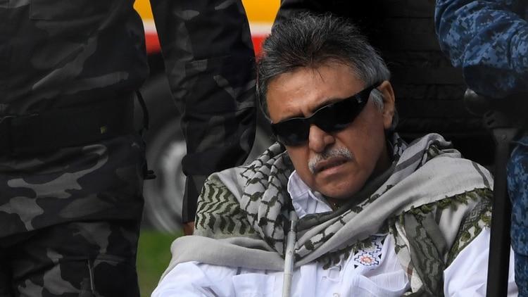 El ex gurrillero de las FARC Jesús Santrich (AFP)