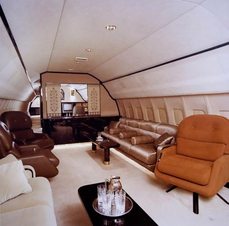 El jet propiedad de Vega permitía que los traficantes viajaran con lujos y discreción.
