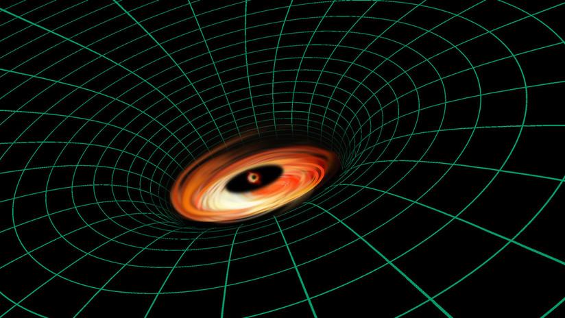 El telescopio espacial Hubble halla algo que no debería existir cerca de un agujero negro