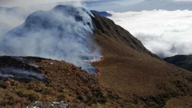 Sofocan incendio en el parque Carrasco que arrasó con unas mil hectáreas