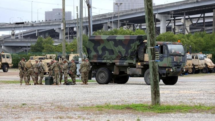 Las autoridades ordenaron la evacuación de varias zonas del estado (REUTERS/Jonathan Bachman)