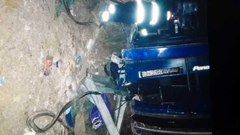 Accidente en el camino a Oruro deja cuatro fallecidos y 30 heridos