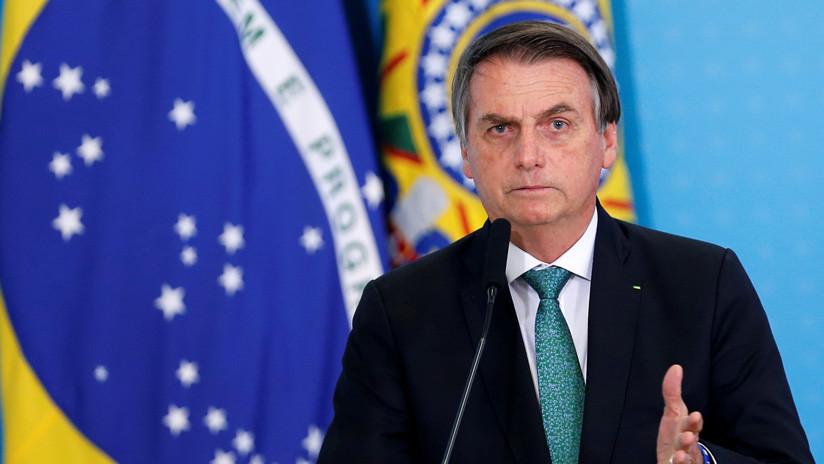 Trump: Bolsonaro es un gran caballero y está haciendo un gran trabajo