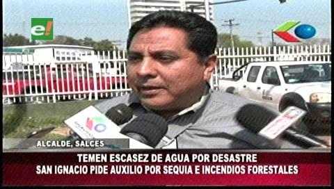 San Ignacio de Velasco pide auxilio por sequía e incendios forestales