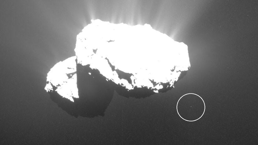 FOTO: Descubren la separación de un objeto del cometa Churiúmov-Guerasimenko