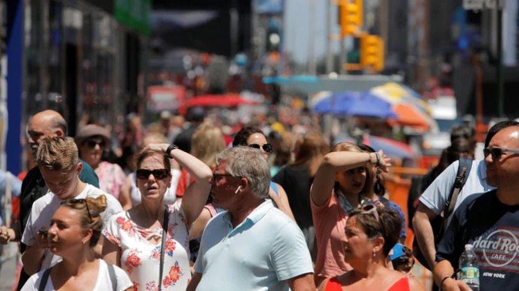 Al igual que Europa, EEUU también sufrió una ola de calor (REUTERS/Andrew Kelly)