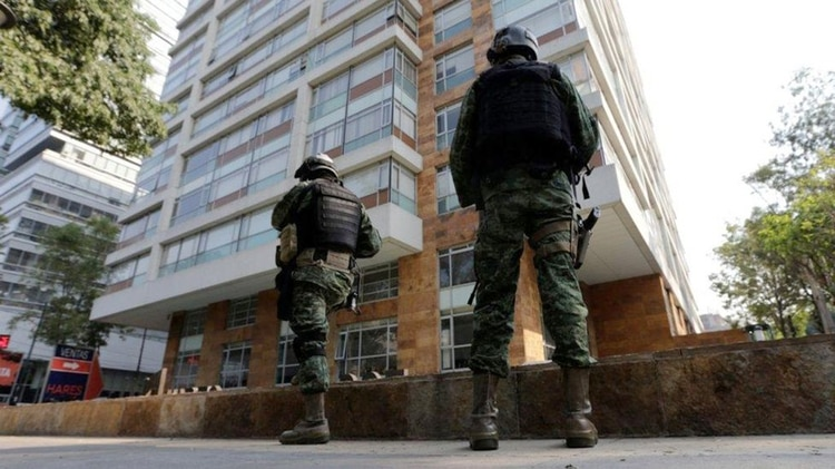 """El edificio de departamentos en el que fue detenido """"El Licenciado"""". (Foto: Reuters)"""