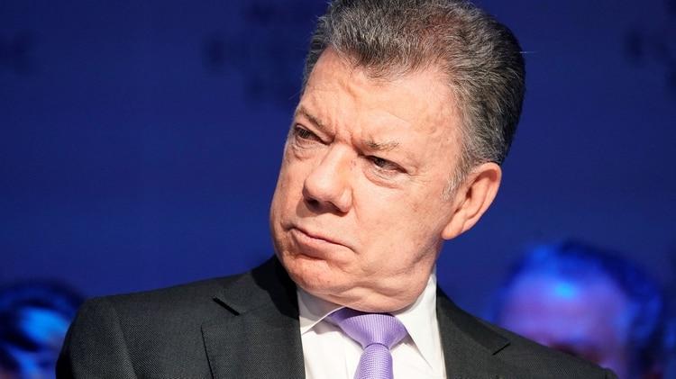 El ex presidente de Colombia, Juan Manuel Santos (Reuters)