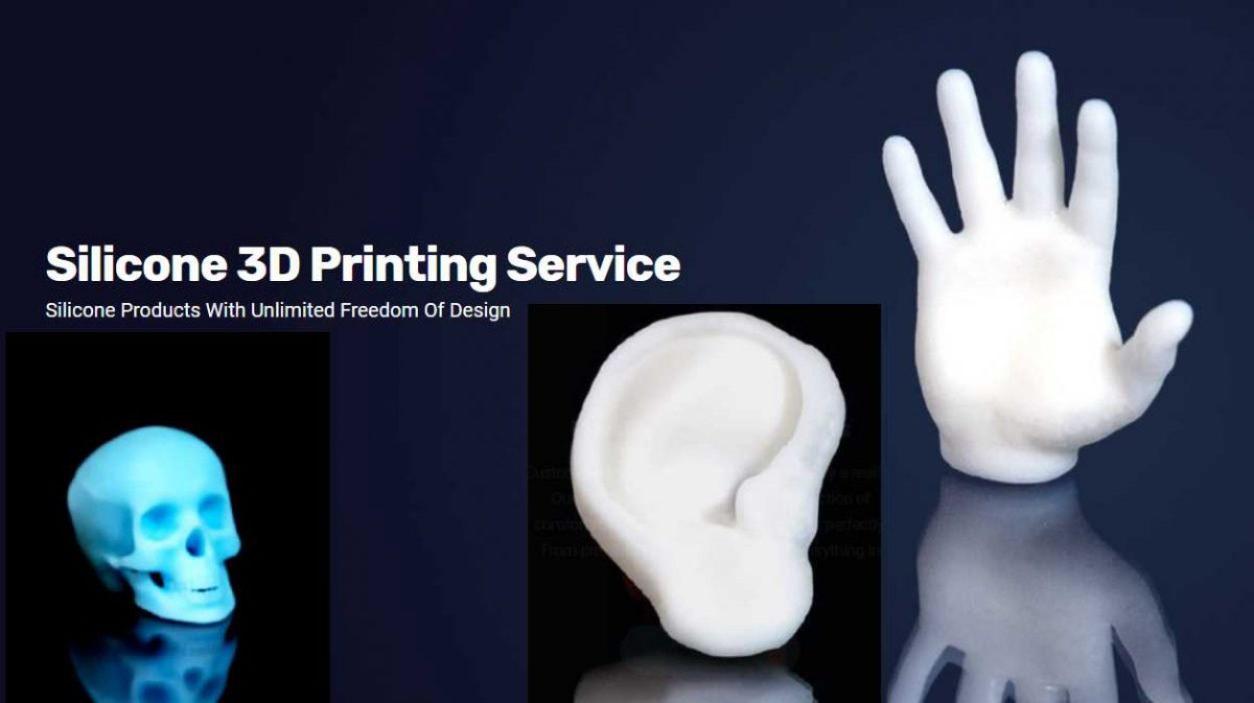 impresión 3D silicona