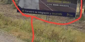 Es mucho cuero, que aparezca una foto del señor Morales «y sus obras», s…