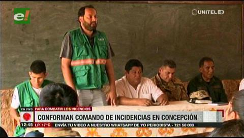 En Concepción crean el Comando Único de Incidencias para combatir los incendios