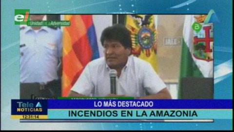 Video titulares de noticias de TV – Bolivia, mediodía del miércoles 11 de septiembre de 2019
