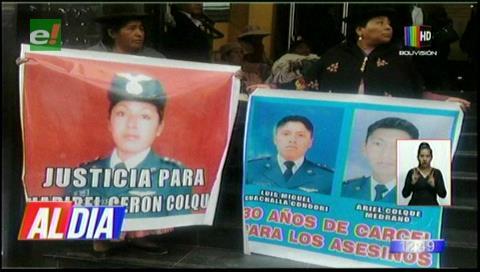 Condenan a 30 años de cárcel a militar por feminicidio de la sargento Cerón