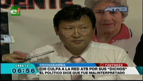 Candidato Chi Hyun Chung culpa a la red ATB por sus propias declaraciones